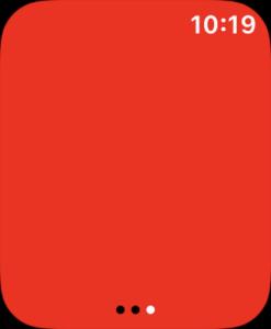 AppleWatch懐中電灯赤ライト