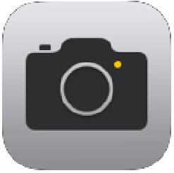 純正カメラアプリ