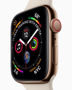 AppleWatch紫外線指数