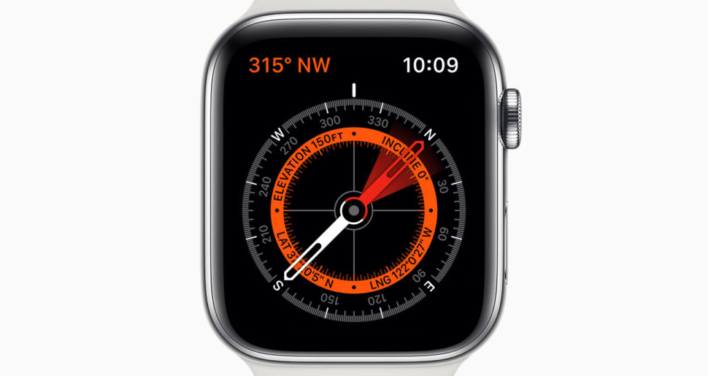 AppleWatchコンパス