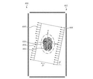 ディスプレイ内蔵型指紋認証センサー2