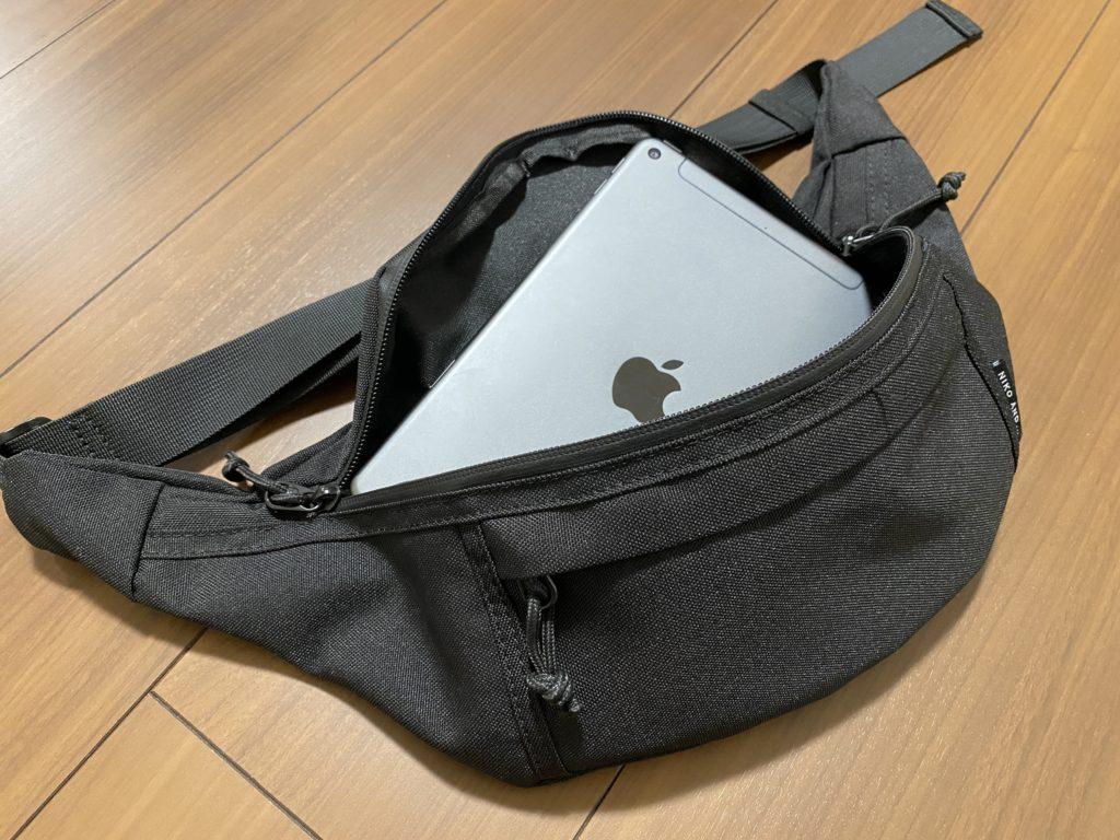 iPad miniは小さい鞄にも入る