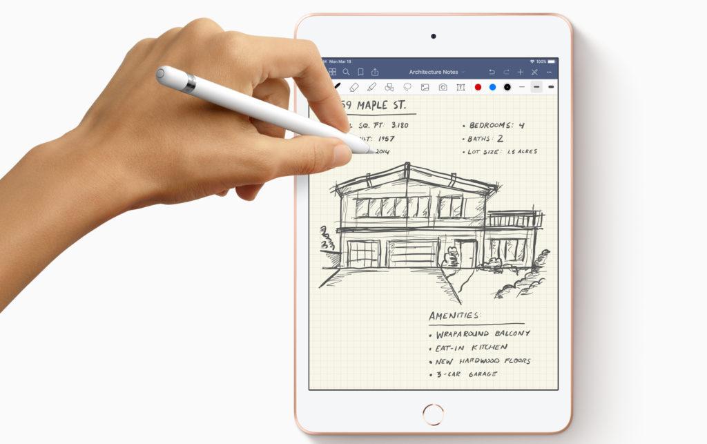iPad mini ApplePencil
