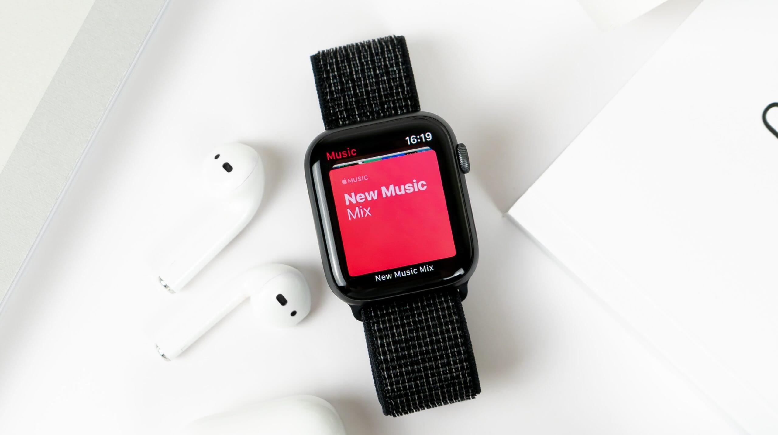 Apple Watchで音楽操作