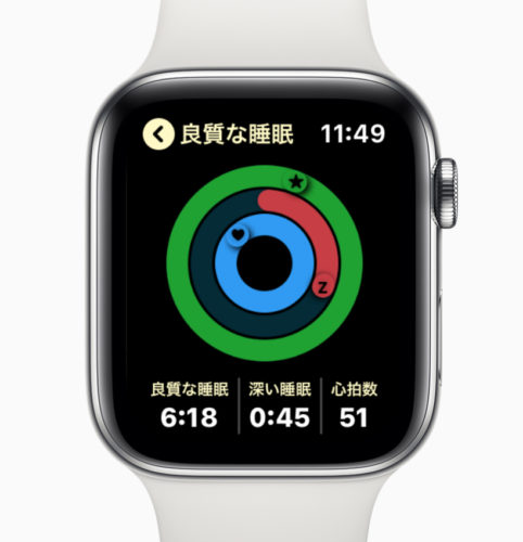 AutoSleep AppleWatchで確認
