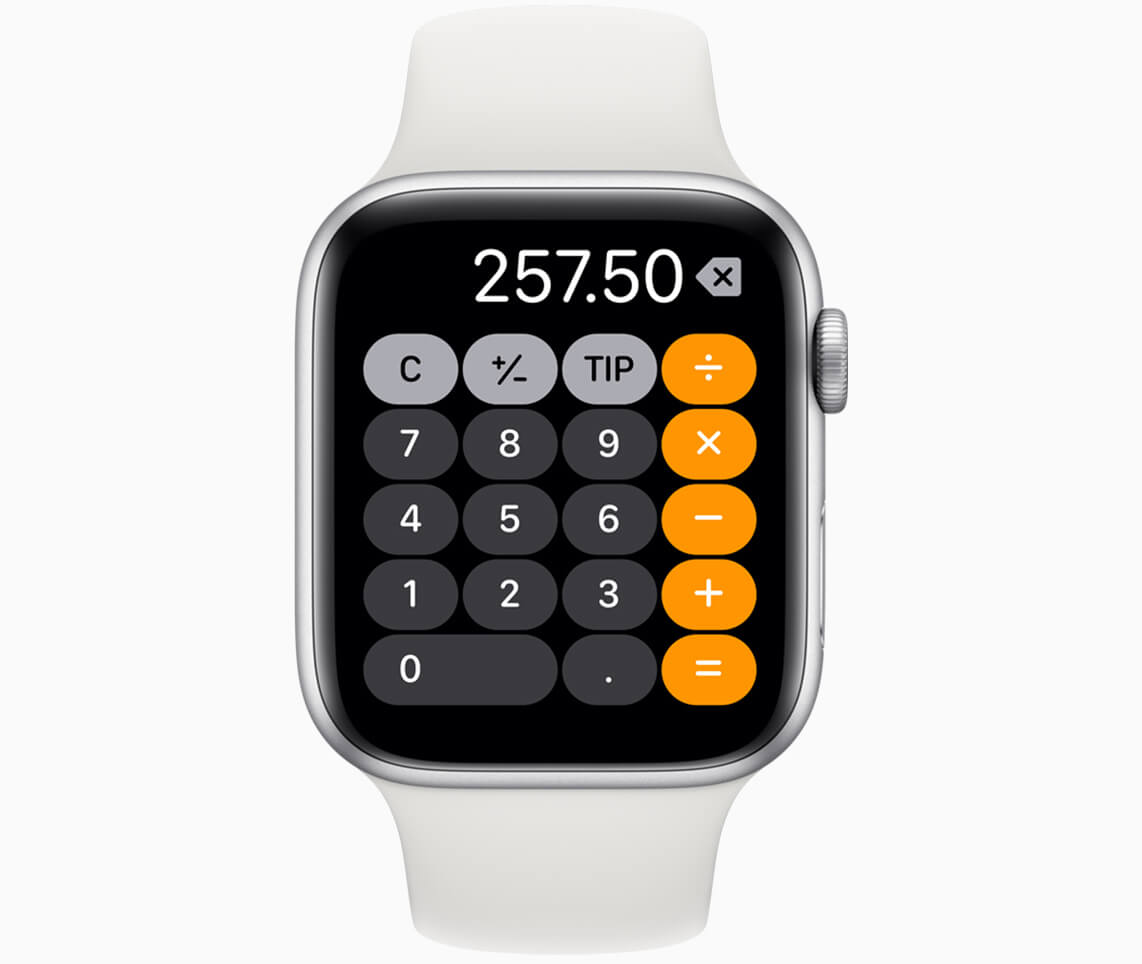 Apple watchos6 calculator 060319