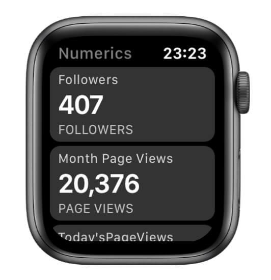 AppleWatchアプリ