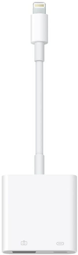 Lightning – USB 3カメラアダプタ