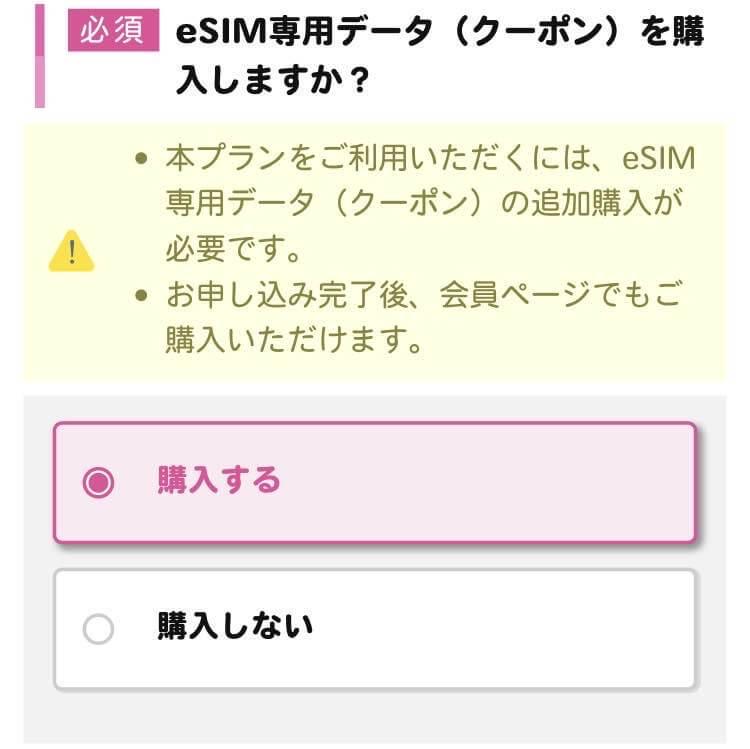 IIJmio申し込み4