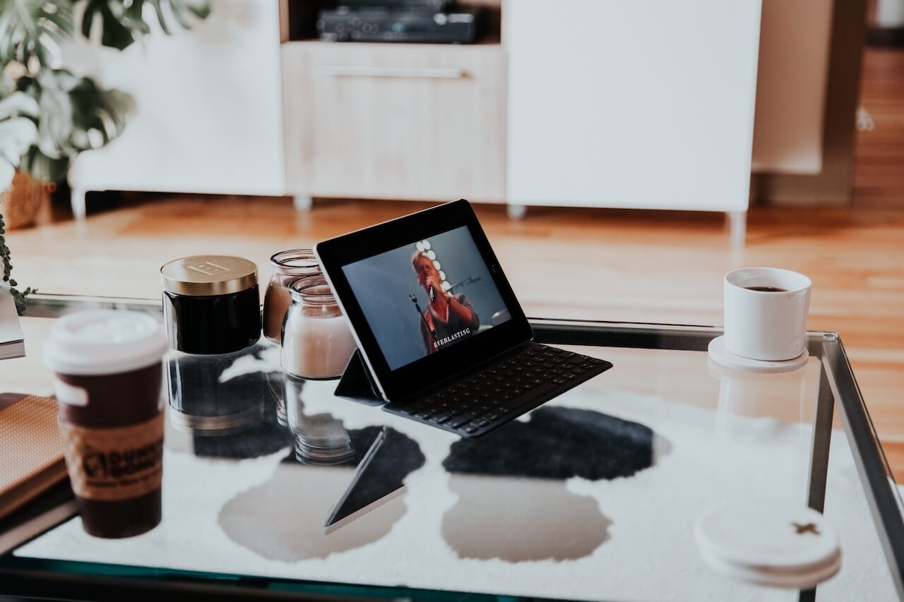 iPadで動画視聴