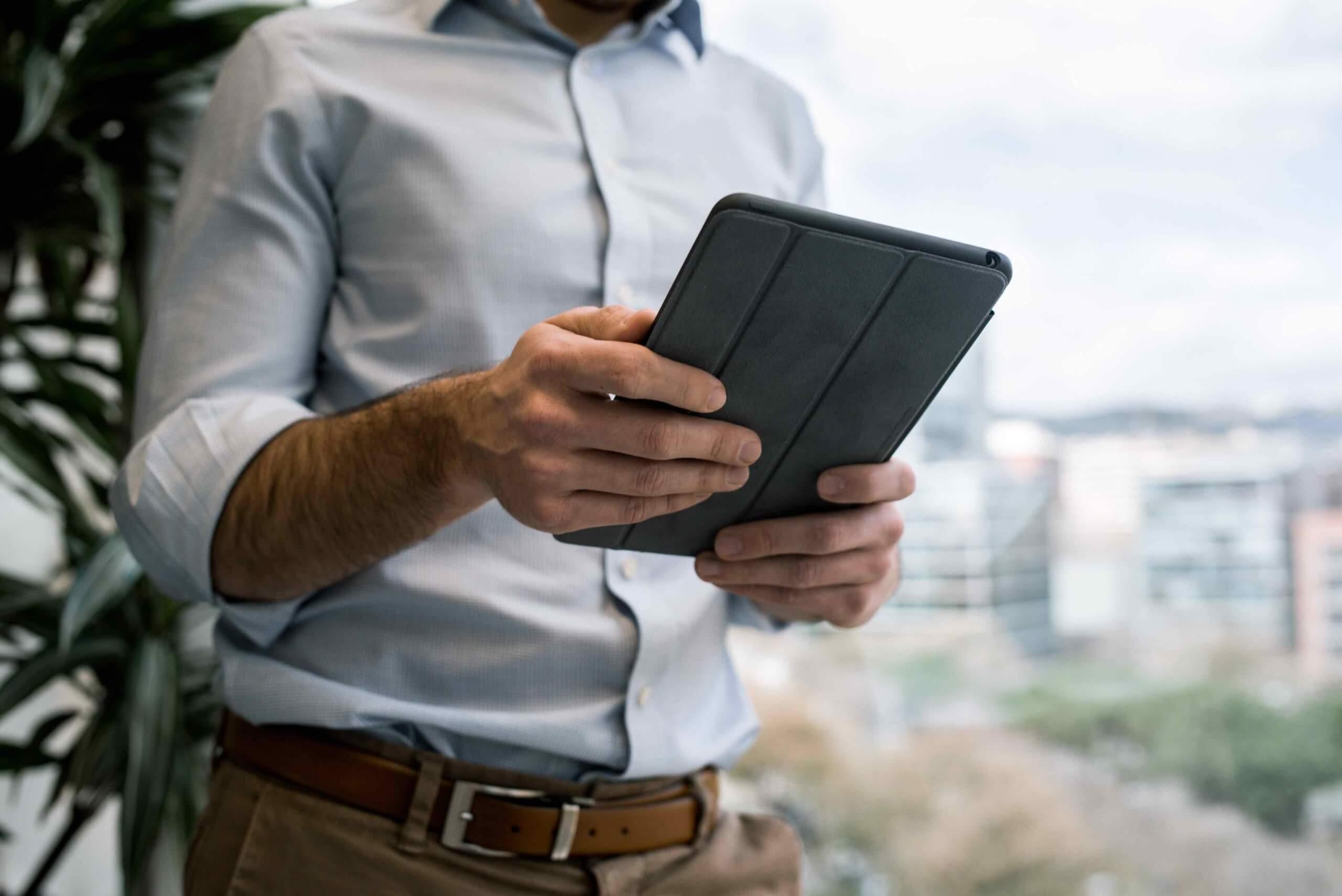 iPadで仕事