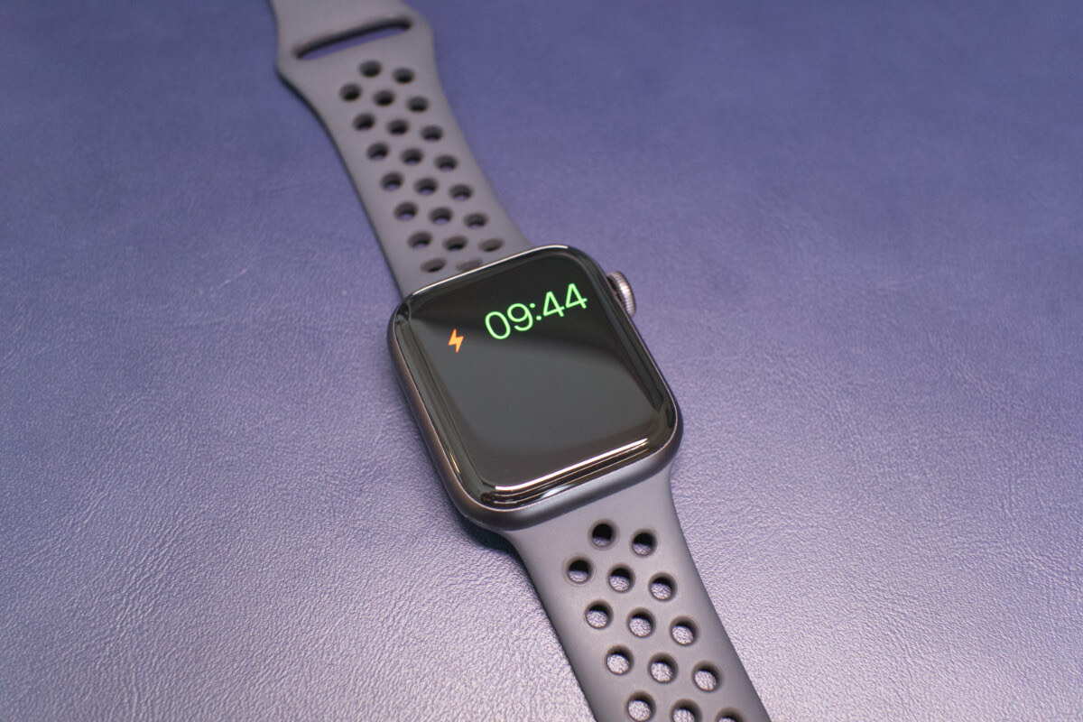 Applewatch放電状態