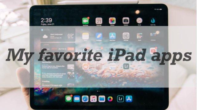 iPadおすすめアプリ