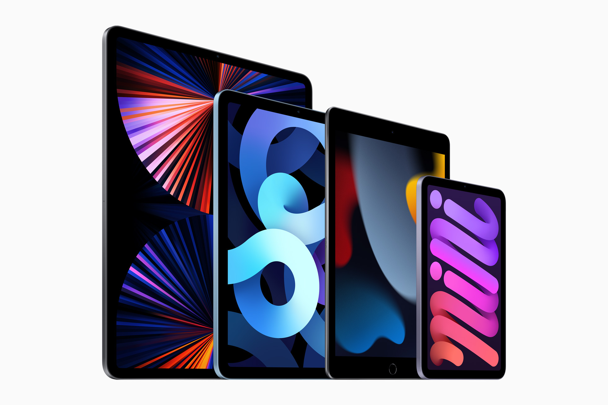 Apple iPad mini ipad family lineup 09142021